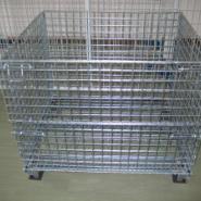 仓储笼、蝴蝶笼、折叠台、折叠笼、折叠仓储笼、网笼、铁笼、周转箱、