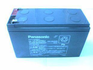 供应松下12V2.6AH消防报警主机备用电池