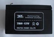 供应浙江杭州电瓶12V7AH蓄电池12V7-2