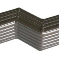 悦鹏PVC成品檐沟,彩铝檐沟,彩色方管批发