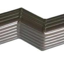 悦鹏PVC成品檐沟,彩铝檐沟,彩色方管批发图片