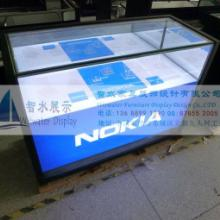 供应手机通讯道具诺基亚手机展柜销售柜图片