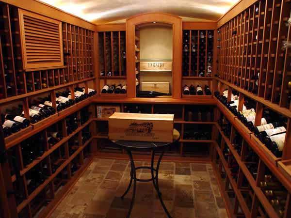 上海酒窖设计,地下室