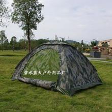 云水遥户外双人单层迷彩帐篷07数码双兵户外帐篷厂家直销双批发