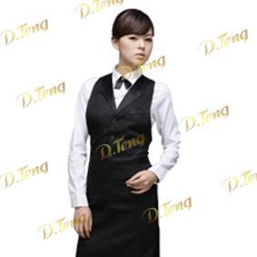 餐厅服务员服装_餐厅服务员服装矢量图_餐厅服务员