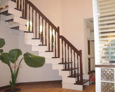 砀山森缘木艺钢艺楼梯楼梯扶手