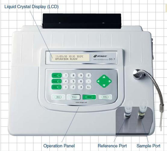 供应差示折光仪_液体浓度测量_较高浓度测量_