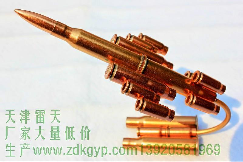 供应军用工艺品子弹壳飞机模型