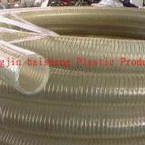 供应耐磨透明钢丝管