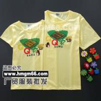 广州夏季T恤衫批发秋季情侣装T恤