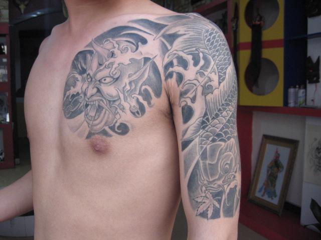纹身图片|纹身样板图|平邑最大纹身店-大唐刺青平邑