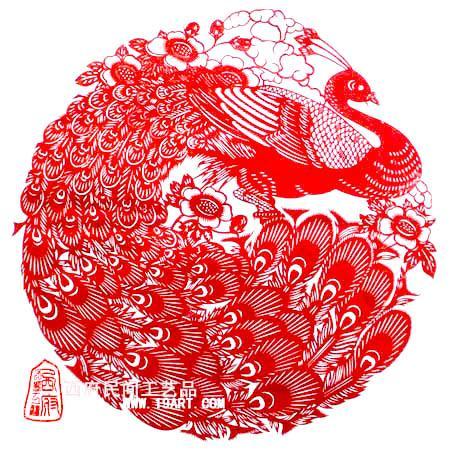供应陕西特色文化礼品西安剪纸