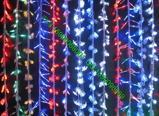 ... 灯,星星灯串,树木街道装饰专用挂树彩灯,网灯