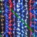 供应LED节日灯,星星灯串,树木街道装饰专用挂树彩灯,网灯