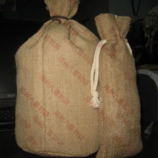 束口袋-大米袋-礼品袋-黄麻布袋图片