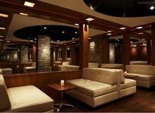 供应北京咖啡屋环保皮沙发