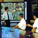 会议用交互式液晶电子白板图片