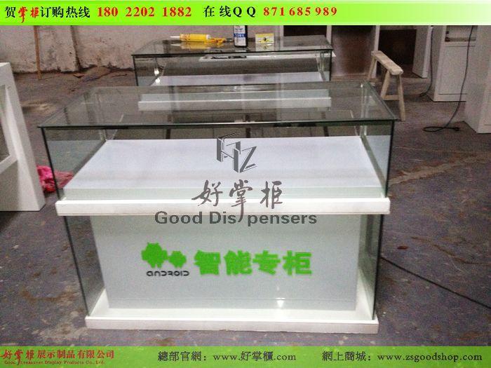 供应8CM玻璃安卓手机柜台