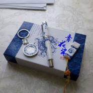 北京厂家青花瓷笔+U盘+钥匙扣图片