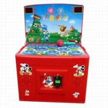 供应济源孟津儿童玩具车轨道小火车销售三人转马喜羊羊游戏机新款摇摆机