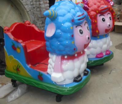 供应周口西华电动音乐美羊羊投币机销售摇摆式摩托车摇摆式打游戏小汽车