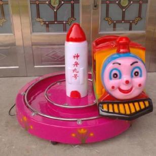 扬州带轨道转圈火车投币摇摇车图片