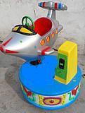 小熊摇摆机LED彩灯小型摇摇车图片