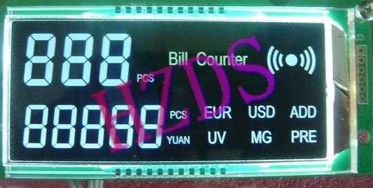 供应数钞机点钞机LCD液晶显示屏开发图片