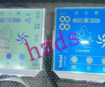 供应太阳能热水器控制板液晶显示屏图片