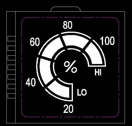 供应显示电量的液晶显示屏图片