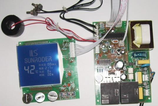 供应电热水机器控制板液晶控制开发图片