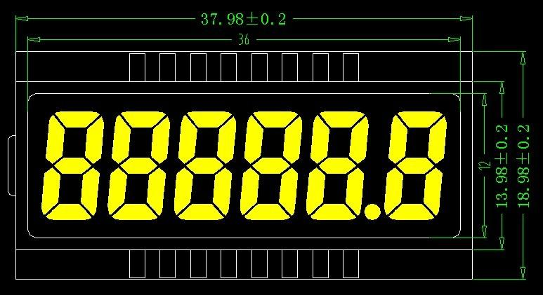 供应8888888LCD液晶屏图片