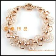 金丝网饰品蛇形手链图片