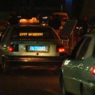 出租车LED车载终端图片