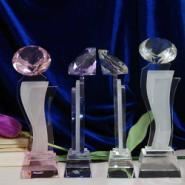 上海水晶奖牌图片