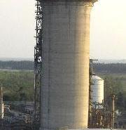 广东省云浮市水泥烟囱拆除加高图片