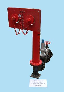 供应墙壁式水泵接合器图片