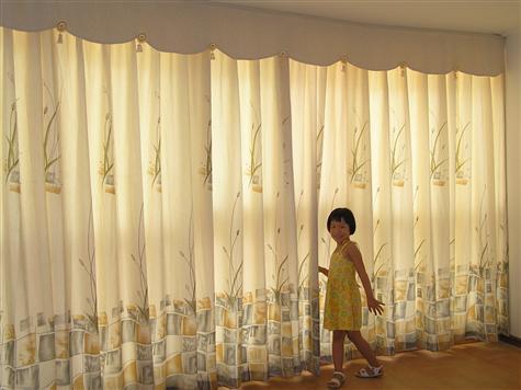 北京窗帘布艺卷帘图片