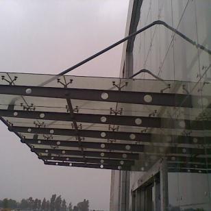 潍坊市玻璃雨篷图片