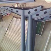 供应临沂市玻璃雨篷钢梁供应商