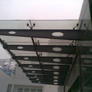 宁夏省玻璃雨篷制作图片