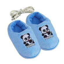 供应优贝生活USB保暖鞋暖脚鞋电暖鞋可拆洗分开式