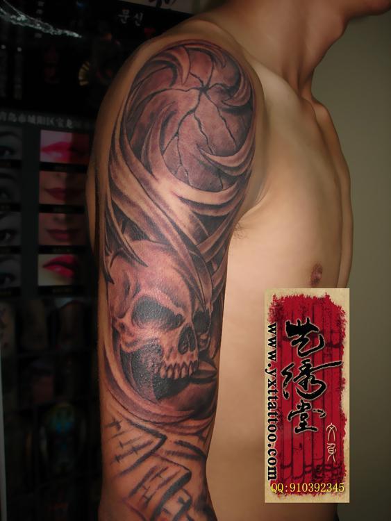 青岛艺绣堂纹身生产供应青岛艺绣堂纹身作品花臂