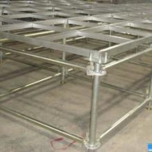 供应铝合金灯光舞台架加工,支架,展示架铝合金焊接加工铝管焊接