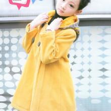 2011新款韩版女童装儿童羊绒大衣中大童秋冬季冬款冬装批发