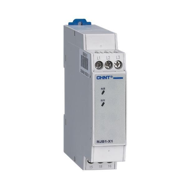 正泰相序断相继电器NJB1-X1销售