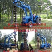供应前置电线杆螺旋挖坑机