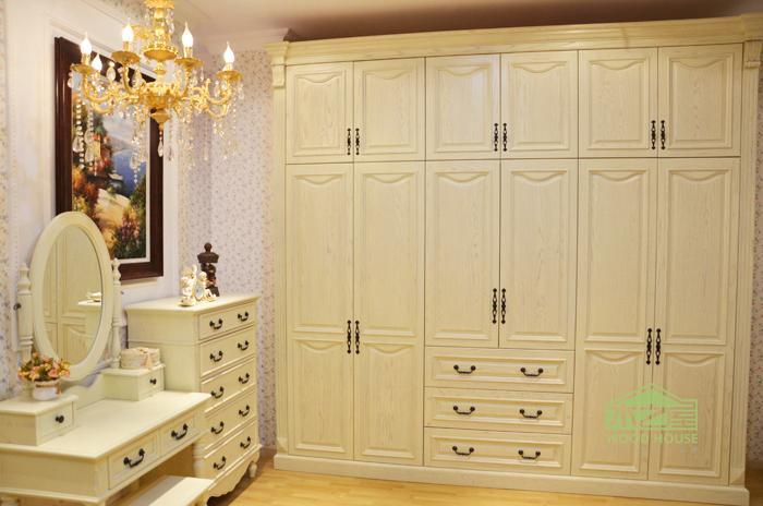 供应定做实木橱柜 深圳实木家具定做 定做实木衣柜 实木鞋柜 供应欧式图片