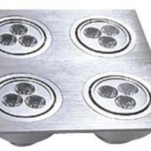 供应LED12X1W方形天花灯外壳314W方形天花灯套件、LED天花灯配件