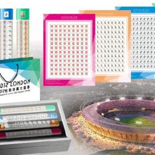 伦敦奥运邮票大炮筒图片